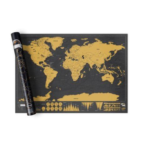 Kaparós világtérkép, utazós