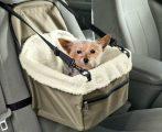 Autós ülés kistestű kutyáknak