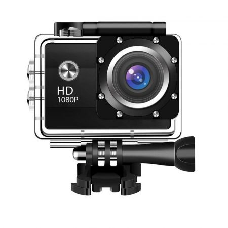 1080P Vízálló sport kamera - de nem csak sportokhoz, akár fedélzeti-, vagy biztonsági kameraként is használhatod