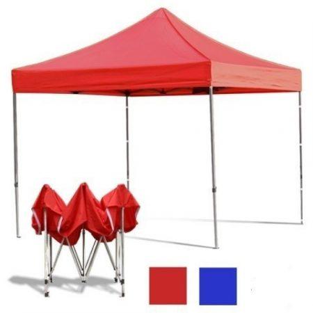 Összecsukható kerti pavilon 3*3 méteres sátor piros