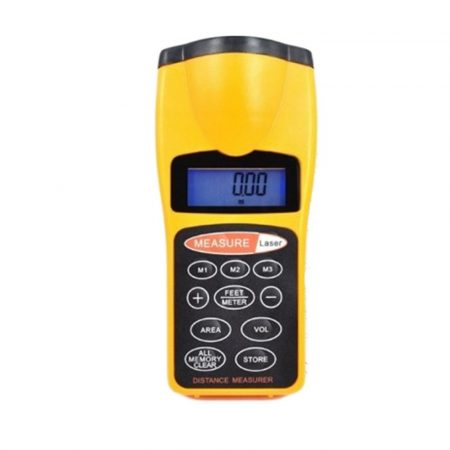 Digitális ultrahangos távolságmérő 18m-ig - Felejtsd el a hagyományás mérőeszközöket!