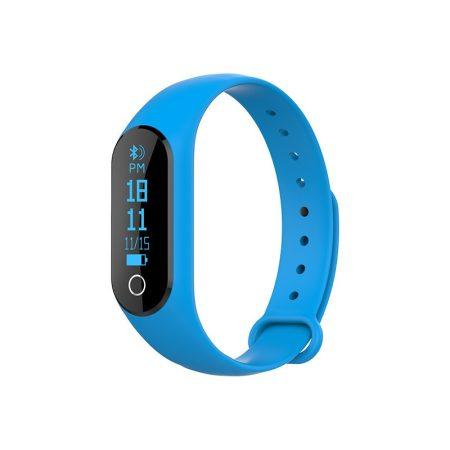 Volko Okos karkötő  kék - Pulzusmérős aktivitás mérő androidra és IOS-ra.