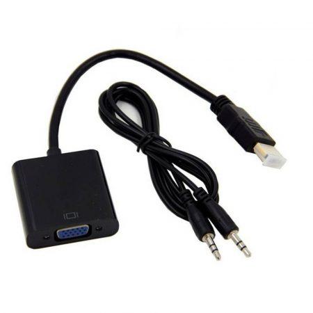 HDMI - VGA átalakító, hangkonvertálással