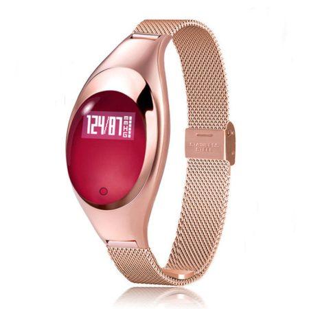 Christina arany okosóra (Z18) -Igazán csajos óra vékony fémszíjjal,hogy sportolás közben is nőies lehess.