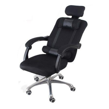 Elnöki forgószék, fekete  -Kényelem és komfort,ergonomikus kialakítás!