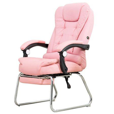 Masszázsfotel lábtartóval, Pink -Te is fáradtan esel haza munkából ?Mindened fáj és jól esne egy masszázs?