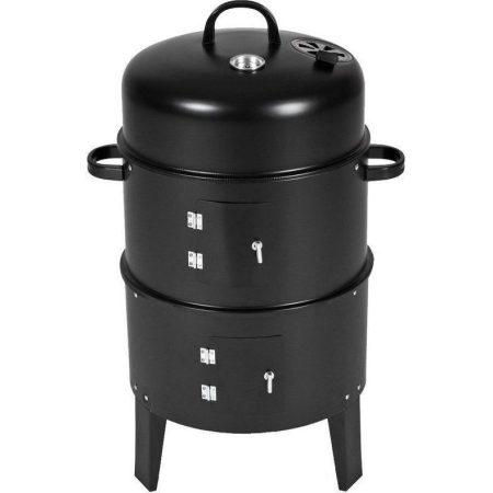 Grill master BBQ Smoker Multifunkciós grillsütő és füstölő