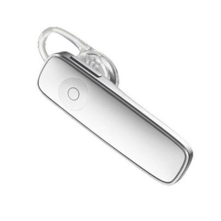 HQ Bluetooth Headset Fehér - Energiatakarékos, apró készülék a biztonságos beszélgetésért vezetés közben is.
