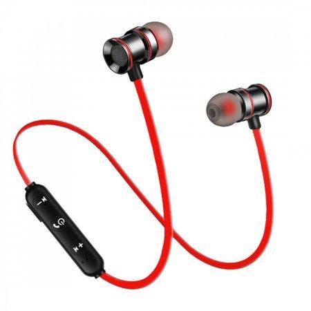 X10 Sport headset Piros - Mágneses kialakítás, hogy sportolás közben se hagyd el!