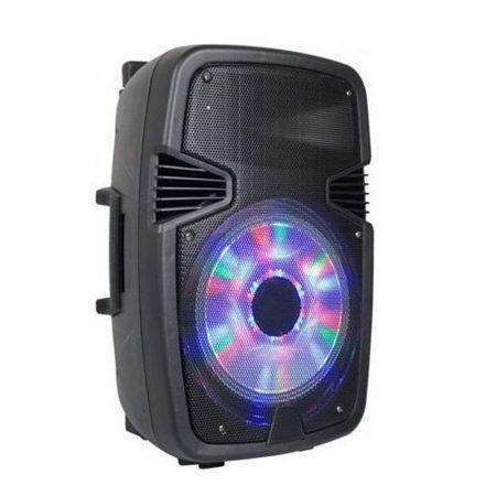 AlphaOne W6008 Hordozható akkus Bluetooth hangfal, beépített led,mikrofonnal-Ti még mindig telefonról hallgatjátok a zenét?