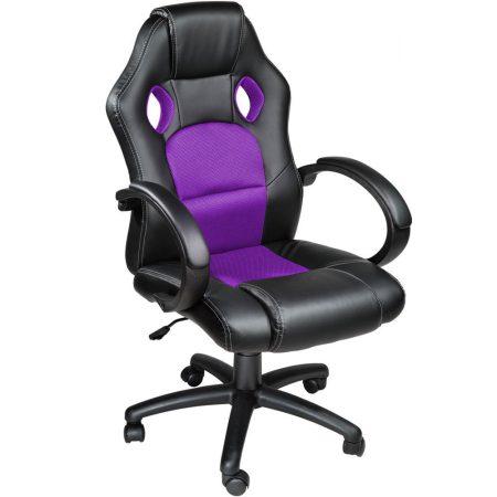 Gamer szék basic, Lila -Sokat vagy fent a világhálón? Felejtsd el az elgémberedett ízületeket!