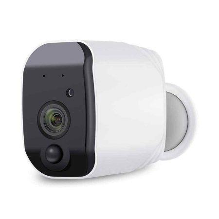Akkumlátoros WIFI-S kamera,kültéri/beltéri ingyenes szállítás