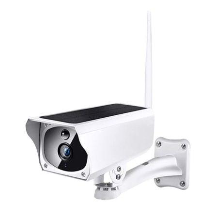 Napelemes akkumulátoros Wifi biztonsági kamera