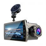V5 autóskamera kettős objektívvel és HD kijelzővel