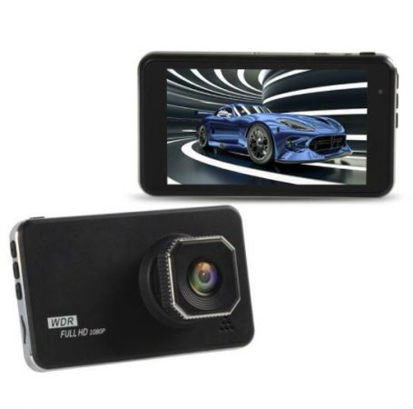 Alphaone C800A érintőkijelzős  4 inch-es autós kamera