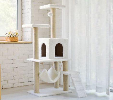 Macska bútor V2 bézs