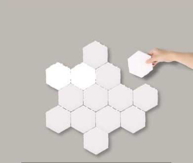Puzzle Nyomásérzékelős lámpa 7-db-os