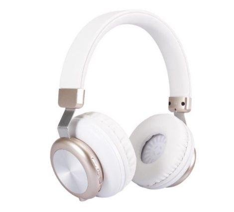 Sol H4 Bluetooth fejhallgató Fehér