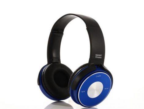 Sol bluetooth fejhallgató 890BT kék