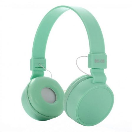 Liro bk05 fejhallgató Türkiz zöld