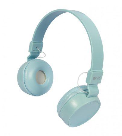 Liro bk05 fejhallgató kék
