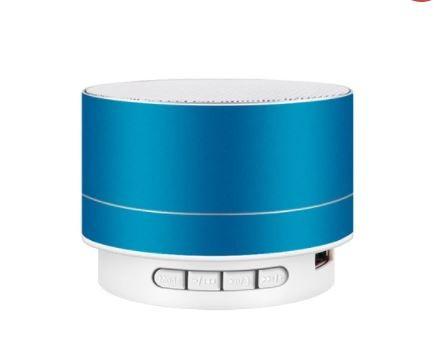 A10 Bluetooth hangszoró fémes kék