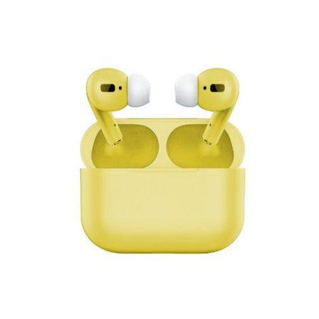 Air pro vezeték nélküli fülhallgató - sárga