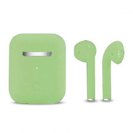Inpods 12 Macaron Zöld - soft touch vezérléssel, matt felülettel