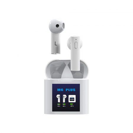 Air M6 Plus hőmérővel - TWS Bluetooth fülhallgató