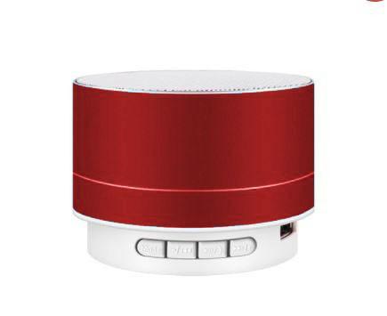 A10 Bluetooth hangszoró fémes piros