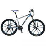 Laux Jack hegyi kerékpár kék-fehér csillag küllős kivitel