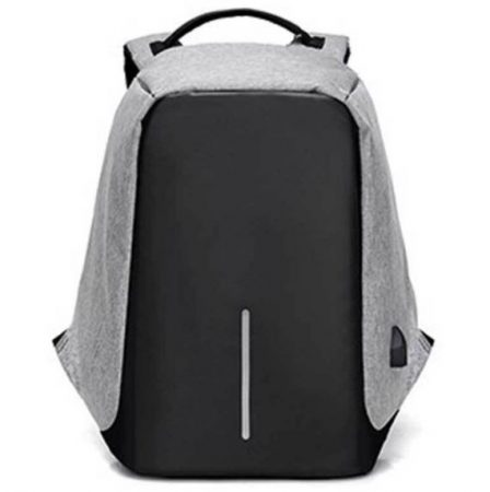 Szűrke lopásgátlós laptop hátizsák
