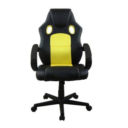Gamer szék basic, Citromsárga -Sokat vagy fent a világhálón? Felejtsd el az elgémberedett ízületeket!