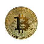 Bitcoin dekorációs érme