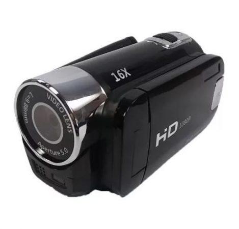 Hordozható 16MP-ES HD Videókamera - 16X DIGITÁLIS ZOOM