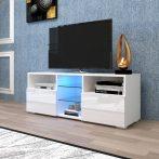Homeland V2 tv tartó állvány - asztal beépített LED világítással