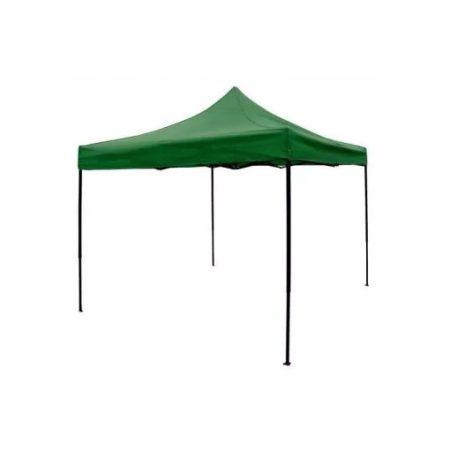 Összecsukható kerti pavilon 3*3 méteres sátor zöld