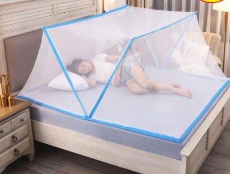 Moskító hálós ágy