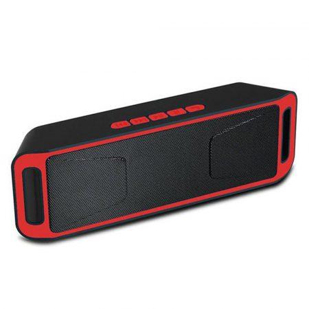 Sc208 Bluetooth hangszóró piros