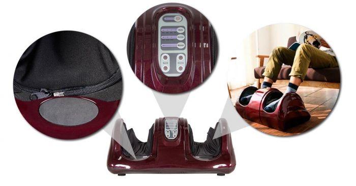 Képtalálatok a következőre: Foot Comfort Akupresszúrás Lábmasszírozógép Vörös színű