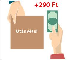 Utánvét - Fizetés a futárnál készpénzzel vagy bankkártyával